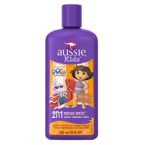 Aussie Dora l'Explorateur Mango Mate 2 en 1 Shampoo & Conditioner, 12-Fluid Ounce