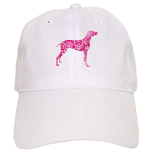 - CafePress German Shorthaired Pointer Baseball Cap with Adjustable Closure, Unique Printed Baseball Hat White