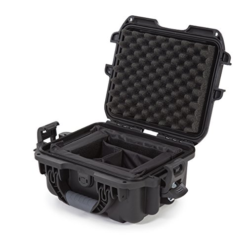 Nanuk 905 Waterproof Hard Case with Padded Dividers - Black - Made in Canada