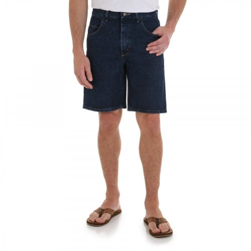 Wrangler Men's Rugged Wear Big & Tall Relaxed Fit Short, Retro Stone, 52 (Big And Tall Relaxed Fit Shorts)