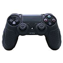 CHINFAI Game Accessory, Silicone Protector Skin Cover Case for PS4 Game Controller ZH-5281
