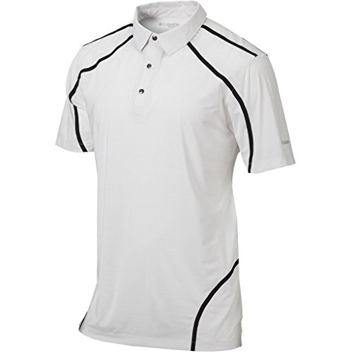 2016 Columbia Sportswear Omni-Wick Cut Away Mens Golf Polo White XXL