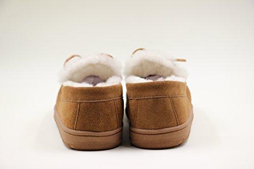 Superlamb Ladies Moccasin Sheepskin Slippers