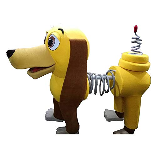 Slinky Dog Toy Story Mascot Costume Party Character Birthday Halloween Adult Size]()