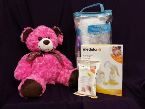 Medela Luxury ''Deluxe'' Baby Shower Gift Set Girls by Medela