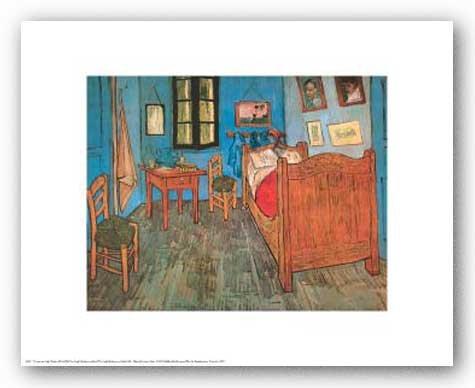 Vincent van Gogh Bedroom at Arles Art Print Poster by Vincent van Gogh