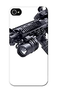 Awesome Case Cover/iphone 5/5s Defender Case Cover(m4a1 Weapon Gun Military Rifle Police) Gift For Christmas