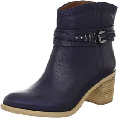 Boutique 9 Women's Clarnella Ankle Boot, Blue, 6 M US