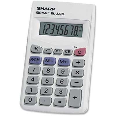 sharp-el233sb-standard-function-calculator