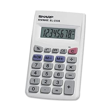 com sharp elsb standard function calculator  sharp el233sb standard function calculator