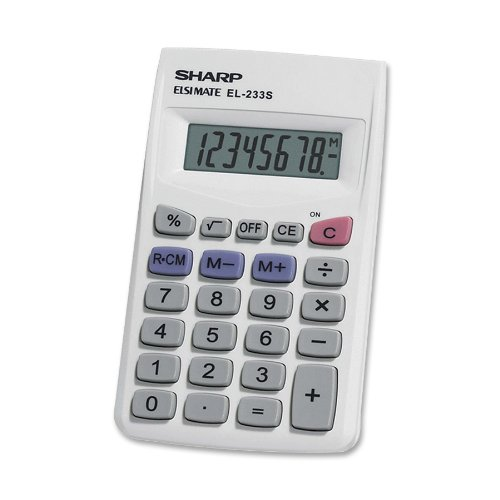 Sharp EL233SB Standard Function Calculator