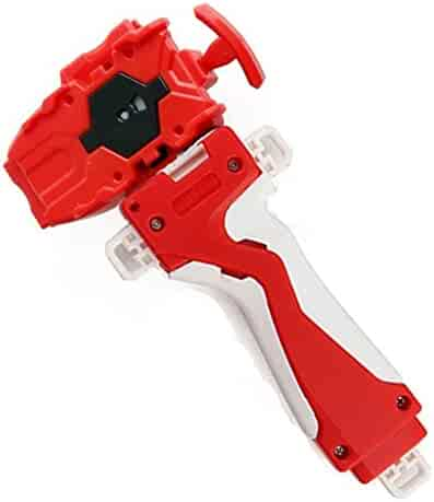 Bey Burst String launcher and Grip.RIGHT SPIN! Let it rip with Bey Burst, the third generation of the popular Bey Battling Top franchise!(Red)