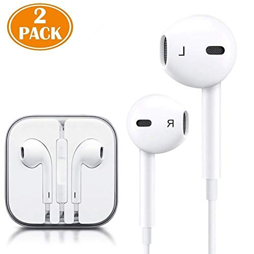 Iphone 7 Headphones,Ultra high definition sound quality iphone Earphones with Microphone Headphones Stereo Headphones and Soundproof Headphones for Apple iPhone iPad and Android(white) by BaoFeng