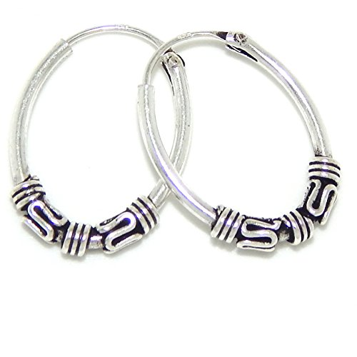 Double Swirl Earrings (Pro Jewelry .925 Sterling Silver