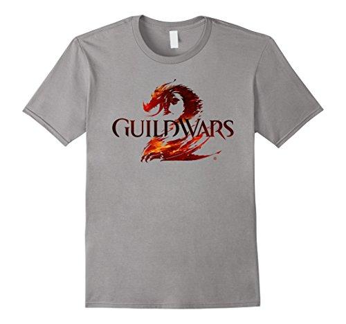 Men's Official Guild Wars 2 Logo T-shirt Medium (Guild Wars Shirt)