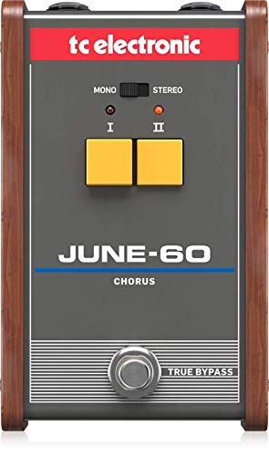 - TC Electronic Electric Guitar Single Effect (JUNE-60 CHORUS)