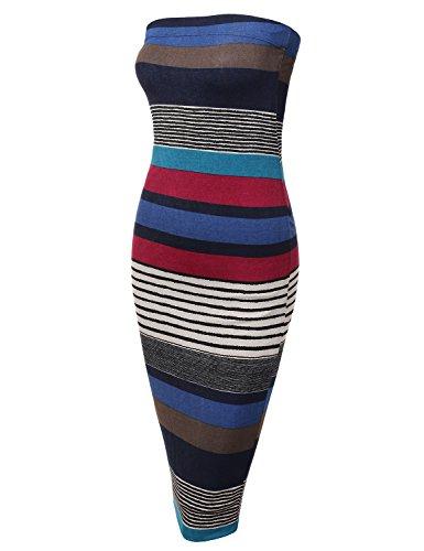 Knit Tube Dress - 3
