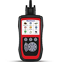 Autel MaxiCheck Pro Diagnostic Tool for Oil Service, ABS, SRS, BMS, DPF, Chassis/Brake/Oil Light/Steering Angle EPB/SBC Service Trouble Codes Scanner