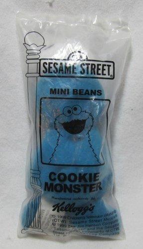 - Sesame Street Kellogg's 1999 Mini Bean Bag Cookie Monster Plush Toy
