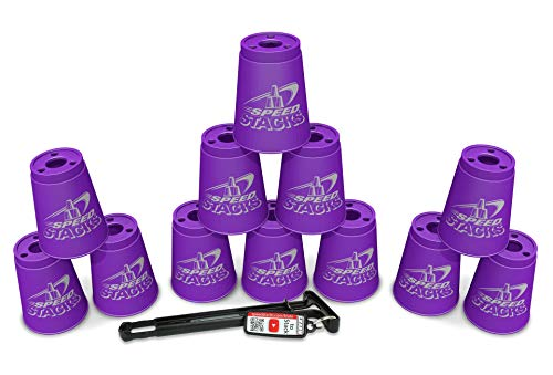 Sport Stacking with Speed Stacks Cups Royal Purple (Cup - Stack Speed Pack