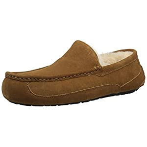 UGG Men's Ascot Slipper, Chestnut, 16 M US