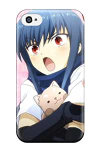 Protection Case For Iphone 4/4s / Case Cover For Iphone(angel Beats)