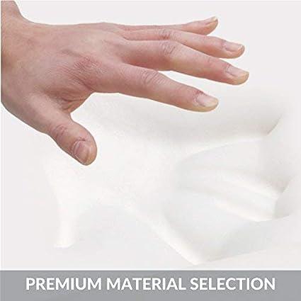 Oreiller Gel de Refroidissement avec taie doreiller visco/élastique 53x37x12 cm Bedsure Bio-Zero Oreiller /à m/émoire de Forme Ergonomique