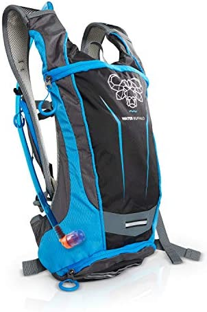Water Buffalo Hydration Backpack Hydration Pack 2 Liter BPA Free Bladder Multiple Pockets For All Your Essentials