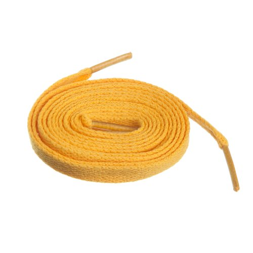 (Birch Shoelaces in 27 Colors Flat 5/16