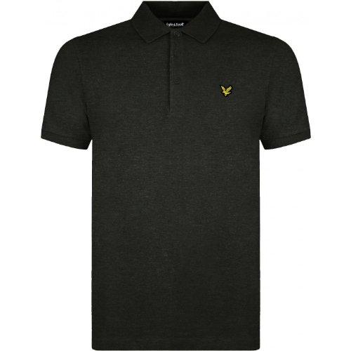 Lyle & Scott Herren Polo Hemd, Grau, Large
