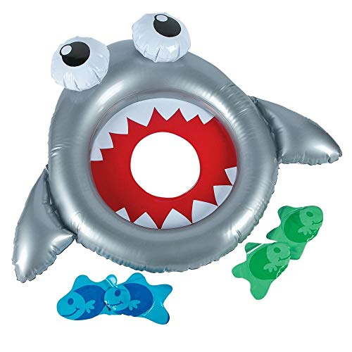 Fun Express Inflatable Shark Bean Bag Toss Game ()
