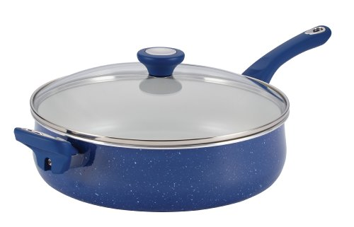 Farberware New Traditions Speckled Aluminum Nonstick 5-Quart
