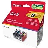 Canon Genuine CLI-8 4 - Colour Value Pack