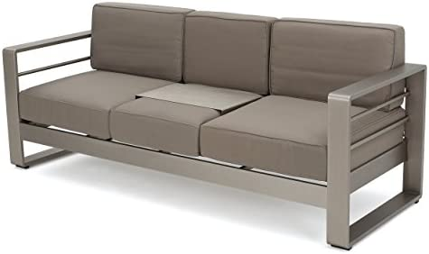 Christopher Knight Home Cape Coral Outdoor Loveseat Sofa