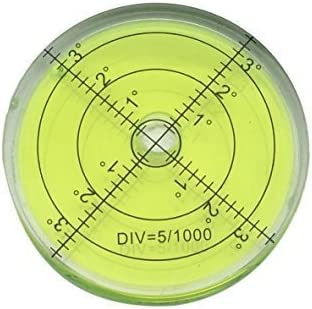 bullseye level filter flask round degrees Bubble level air metal large