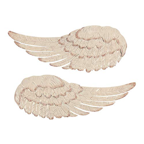 Fun Express - Metal Angel Wing Wall Decor - Home Decor - Decorative Accessories - Wall Decor - 2 Pieces