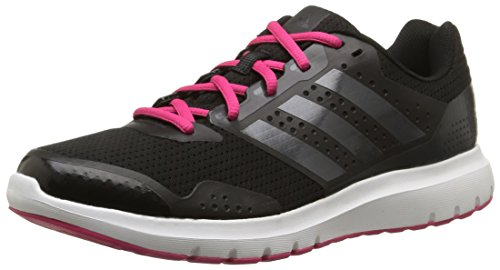 adidas Duramo 7, Damen Laufschuhe, Schwarz (Core Black/Night Met, Bold Pink), 40 EU (6.5 Damen UK)