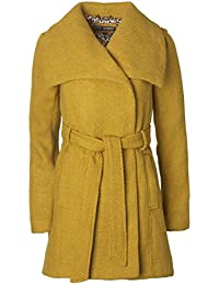 Amazon.com: Yellows - Wool & Blends / Wool & Pea Coats: Clothing ...