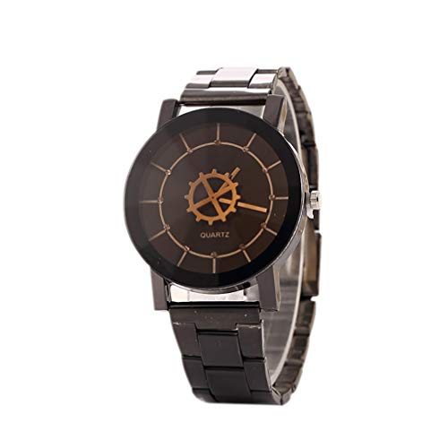 Gear Chronograph Watch - HOBULL Men Women Casual Gear Watch Quartz Wristwatches Chronograph Quartz Couple Watches