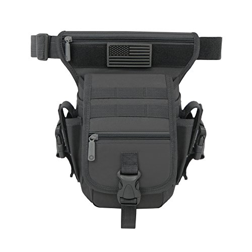 East West U.S.A RT519 Tactical Thigh Pack Waist Belt Drop Le