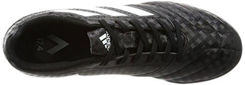adidas Ace 17.4 Tf J, Botas de Fútbol Unisex Niños Negro (Cblack/ftwwht/cblack)