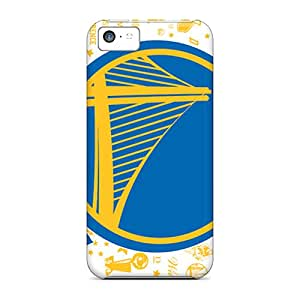 DannyLCHEUNG Iphone 5c High Quality Cell-phone Hard Cover Unique Design Colorful Golden State Warriors Pattern [UDC17915dBVY]