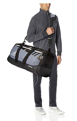 Adidas Team Issue Duffel Bag, Onyx, Medium