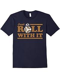 Last Jedi Retro Just Roll BB-8 Graphic T-Shirt