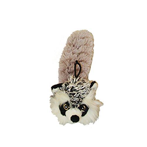 Multipet Bouncy Burrow Buddies Babies Raccoon Small Dog Toy,