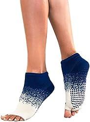 Tucketts Anklet Toeless Non-Slip Grip Socks, Full Ankle Style