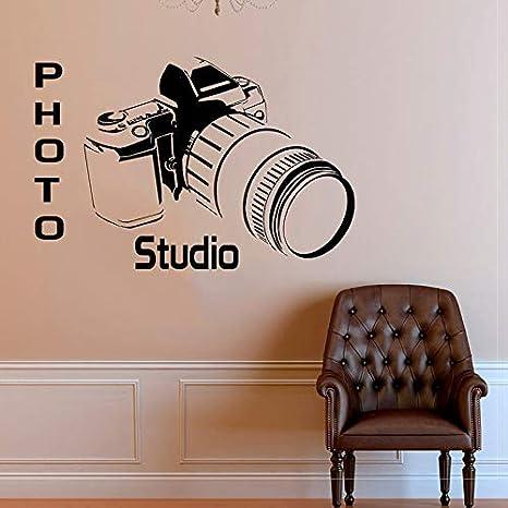 Cámara de estudio Po Tatuajes de pared de vinilo decoración para ...