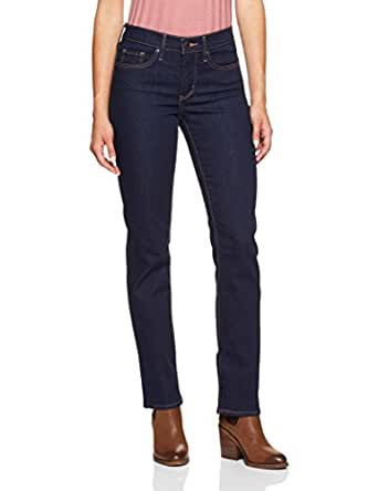 Levi's Women's 314 Shaping Straight Jeans, Splash Blue, 28 34