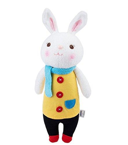 35cm Genuine Metoo Toys children Tiramisu Rabbits Cute Stuffed cartoon Animals Design Plush Toy Doll Birthday/Xmas/New year Gifts For Girls (Type (Can Can Sally Child Costume)