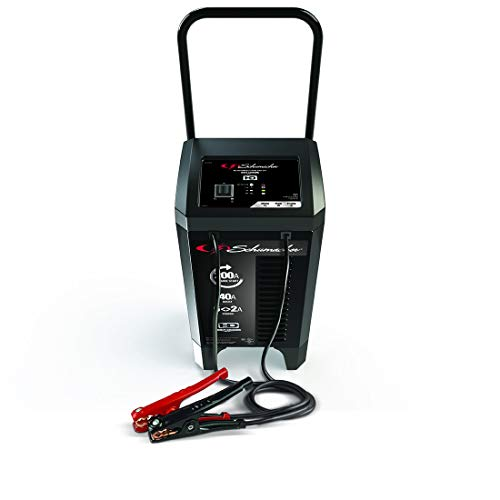 Schumacher SC1324 12V Wheeled Fully Automatic Battery Charger and 40/200A Engine Starter